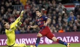 Suárez já ganhou lugar na história do Barcelona