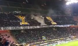 San Siro fez tributo gigante a um português de sucesso com o cântico José Mourinho la la