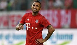 Vidal rejeitou Premier League para rumar ao Bayern Munique
