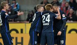 Hertha Berlim vence fora e segura terceiro lugar