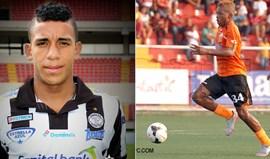 Adalberto Carrasquilla e Ronaldo Córdoba à experiência nas águias