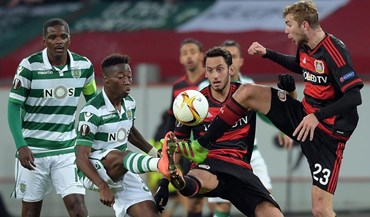 As melhores imagens do Bayer Leverkusen-Sporting