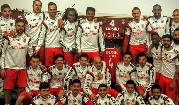 Luisão recebe apoio de peso do balneário do Benfica