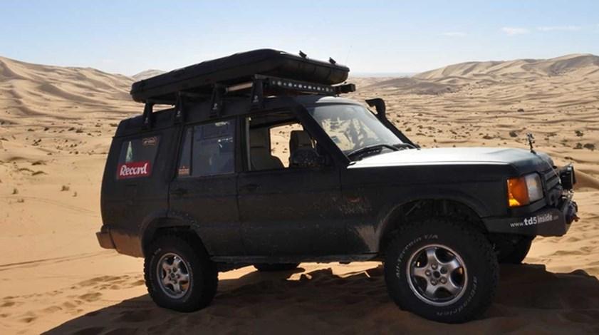 Record chega ao deserto