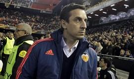 Neville: «Rúben Vezo e Diego Alves? Já tive discussões mais acesas com a minha filha»