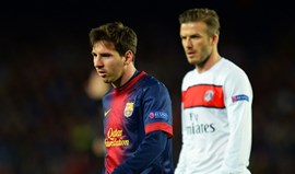 Beckham quer Messi no Miami United