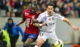 Lille vence com golos de Rony Lopes e Éder