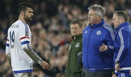 Hiddink ri com a mordidela de Costa e sugere Terapia de Choque
