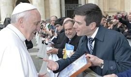 Papa Francisco recebeu Associação de Futebol de Lisboa