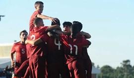 Portugal inicia Ronda de Elite com goleada sobre a Suécia