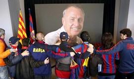 Família de Cruyff vai encerrar memorial em Camp Nou na terça-feira