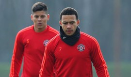 Depay e Rojo entre os dispensáveis do Man. United para 2016/17