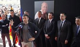 Luis Enrique: «O legado de Cruyff continuará no Barcelona»