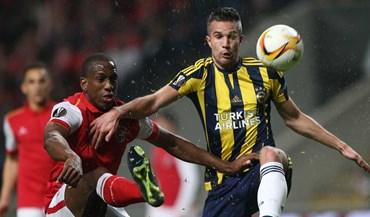 As melhores imagens do Sp. Braga-Fenerbahçe