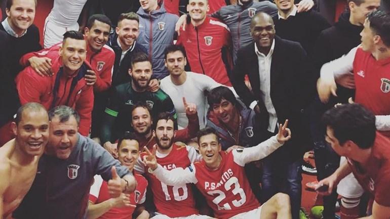 Balneário do Sp. Braga em êxtase com qualificação europeia