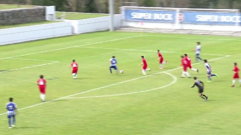 Há muita técnica nos Sub-15 do FC Porto