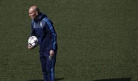 Zidane já tem grupo completo