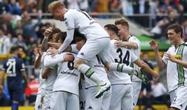 Borussia Mönchengladbach sobe ao quarto lugar