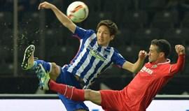 Hertha cede empate mas segura terceiro lugar