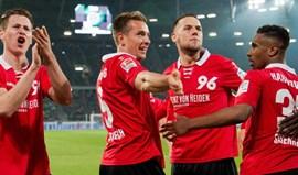 Hannover volta às vitórias caseiras...quatro meses e meio depois