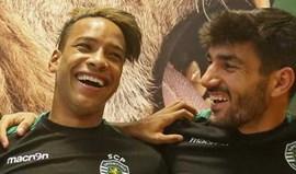 Esgaio, Tobias Figueiredo e Matheus Pereira no dérbi dos B