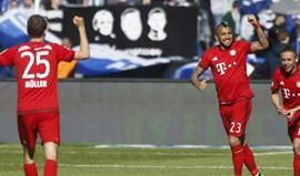 Bayern vence mas ainda não festeja o tetra
