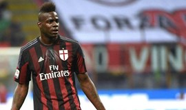 Presidente do Milan não descarta permanência de Balotelli