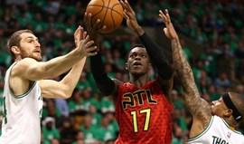Hawks eliminam Celtics e vão defrontar Cavaliers nas meias-finais