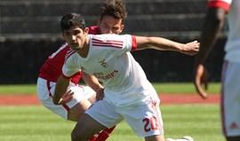 Benfica B vence em Braga e continua vivo