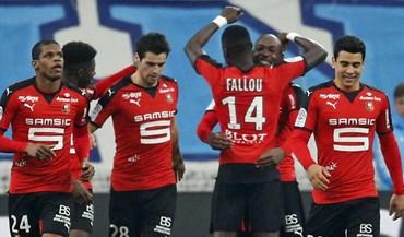 Rennes sobe ao terceiro lugarda Ligue 1