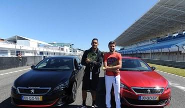 Kyrgios e Simon a alta velocidade no autódromo do Estoril