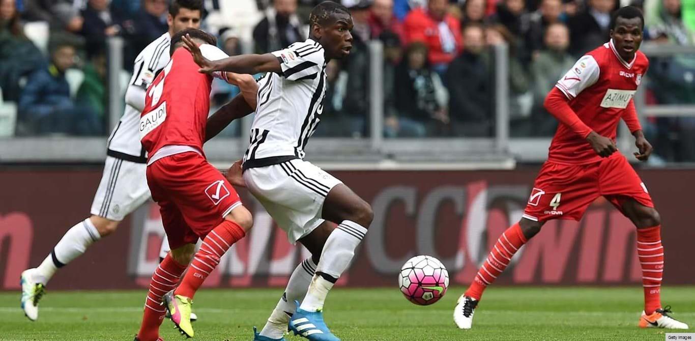Juventus passeia frente ao Carpi na 'ressaca' do título
