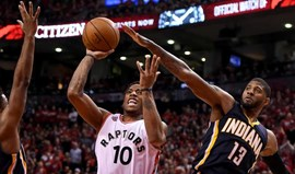 Raptors afastam Pacers e disputam 'meias' do Este com os Heat