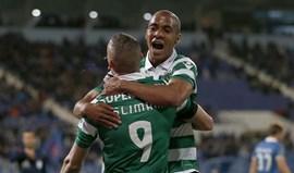 Parceria de João Mário com Slimani lembra JVP e Jardel