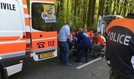 Ciclista português em coma devido a queda no Luxemburgo