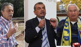 Três candidatos a uma poltrona