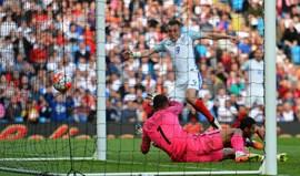Vardy dá vitória à Inglaterra frente à Turquia