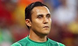 Keylor Navas fora de Copa América por lesão
