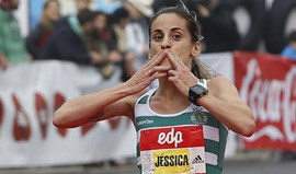 Jéssica Augusto nos Jogos apesar do melhor tempo de Filomena Costa