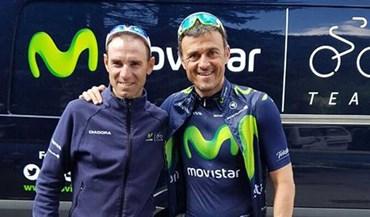 Movistar apresenta 'novo reforço' ao lado de Valverde