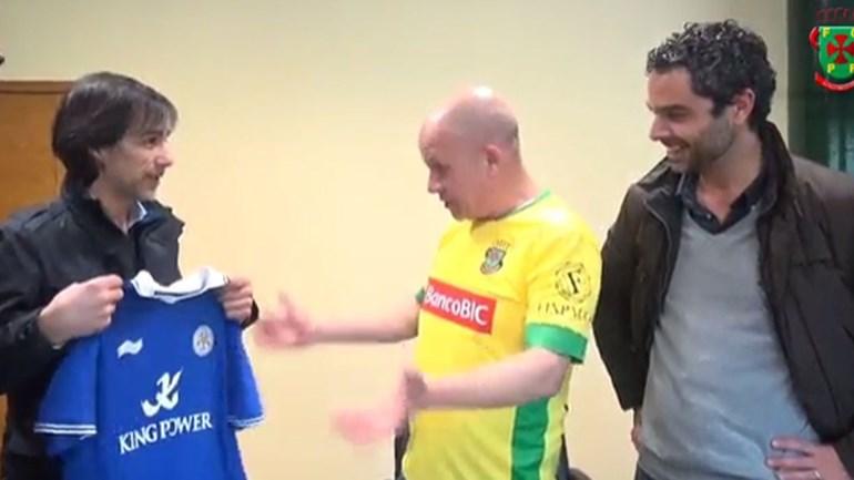 Conhece o adepto do Leicester que torce pelo... Paços de Ferreira?