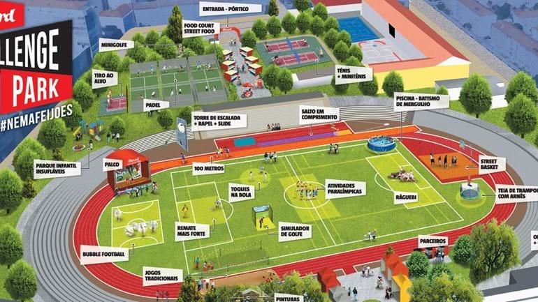 Record Challenge Park: festa do desporto a puxar por todos