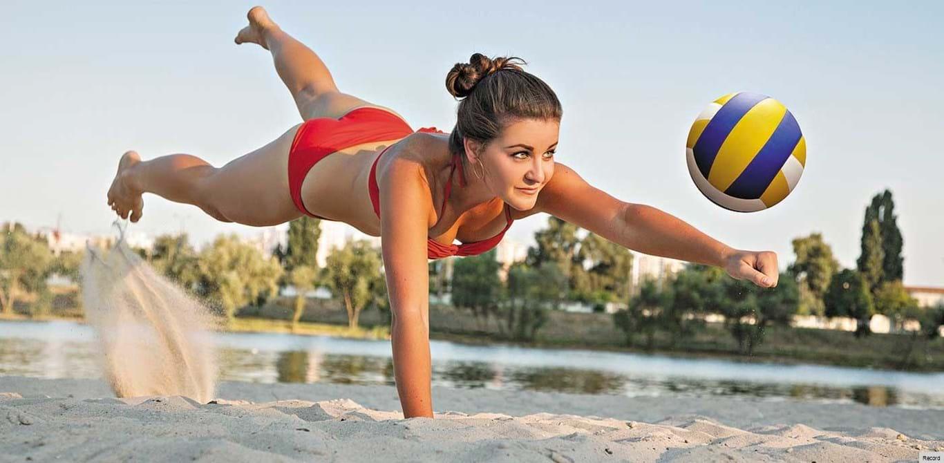 Voleibol de praia: tudo a saltar