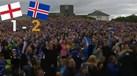 Islandeses loucos com o apuramento para os 'quartos'