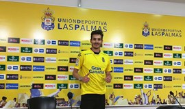 Hélder Lopes apresentado no Las Palmas