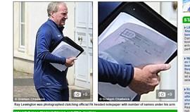 Adjunto de Roy Hodgson terá mostrado a tática...