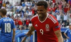 País de Gales-Eslováquia, 2-1: Três pontos para os galeses