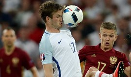 Inglaterra-Rússia, 1-1: Golo tardio tira o céu a Eric Dier