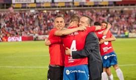 Girona decide subida frente ao Osasuna