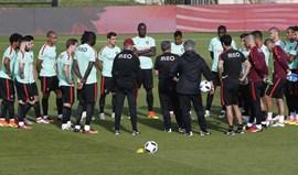Jogadores foram controlados em Lisboa